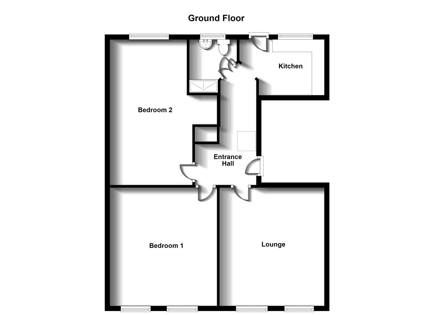 Floorplans For Bilton Road, Rugby