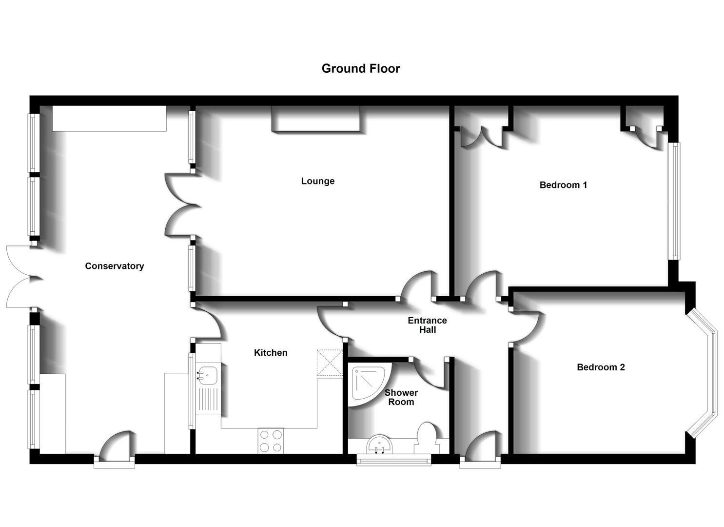 Floorplans For Boswell Road, Shakespeare Gardens, Rugby